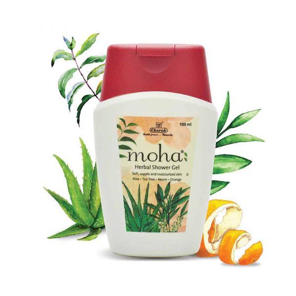Moha herbal shower gel